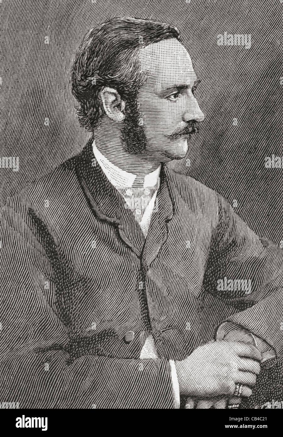 Frederick VIII, aged 30, 1843 – 1912. King of Denmark. Stock Photo