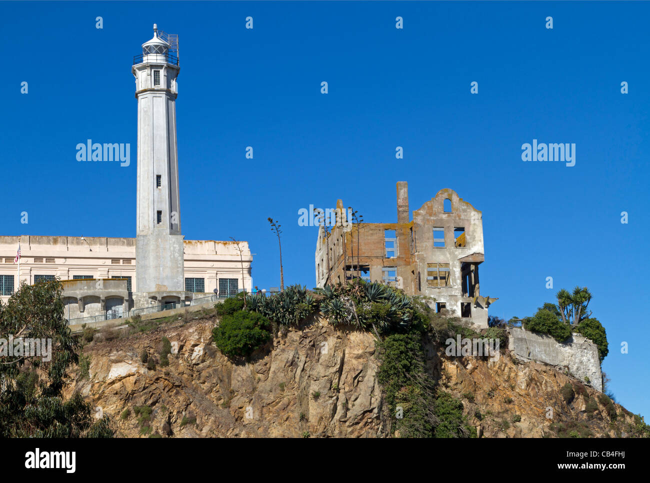 Alcatraz California, USA - Stock Image