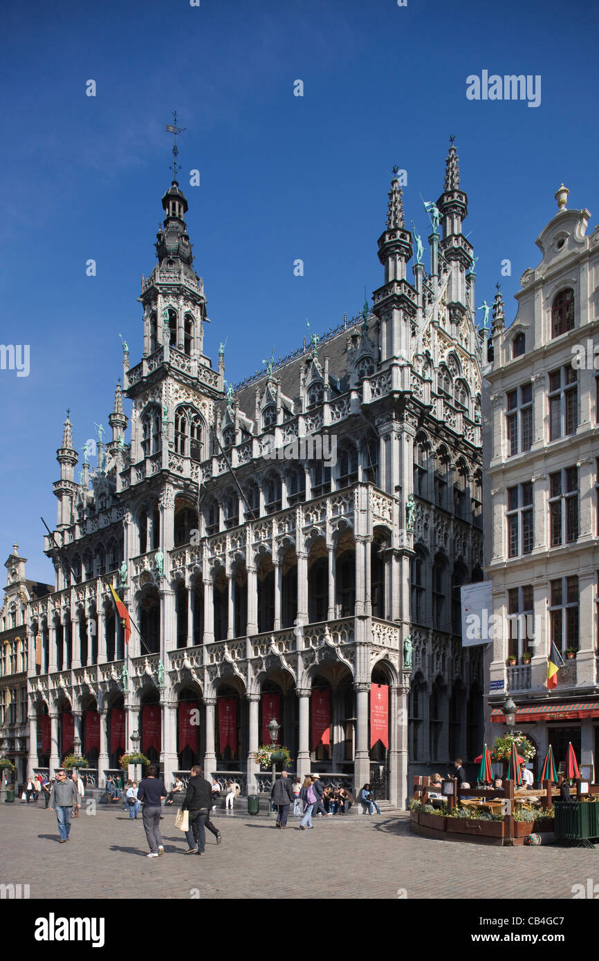 The Maison du Roi / King's House / Broodhuis / Breadhouse at the Grand Place / Grote Markt, Brussels, Belgium Stock Photo