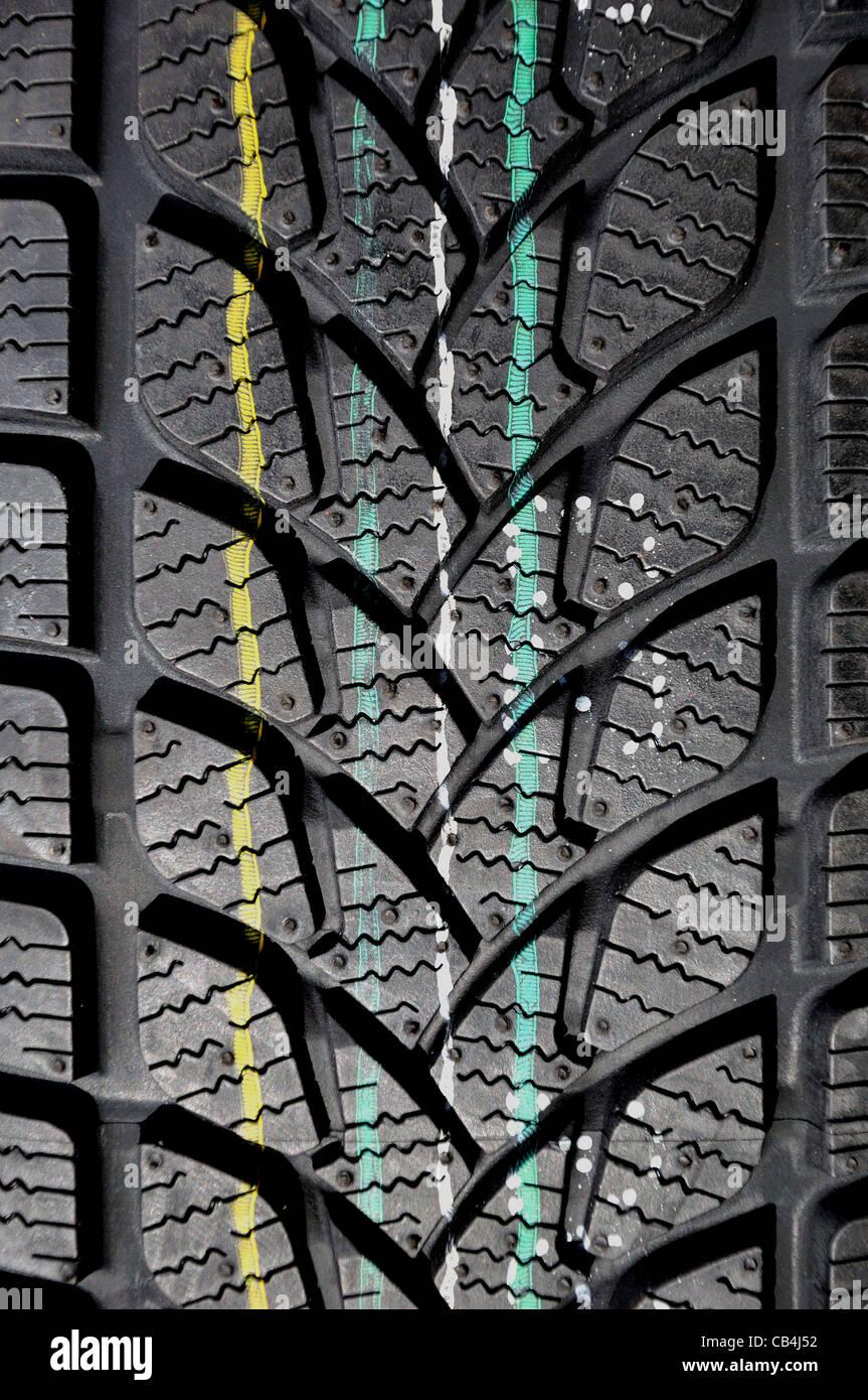 Tire. - Stock Image