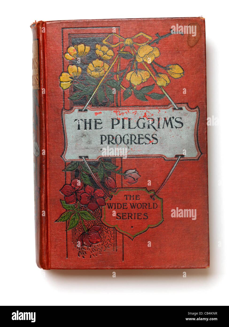 Cover Of The Pilgrim's Progress Book - Stock Image