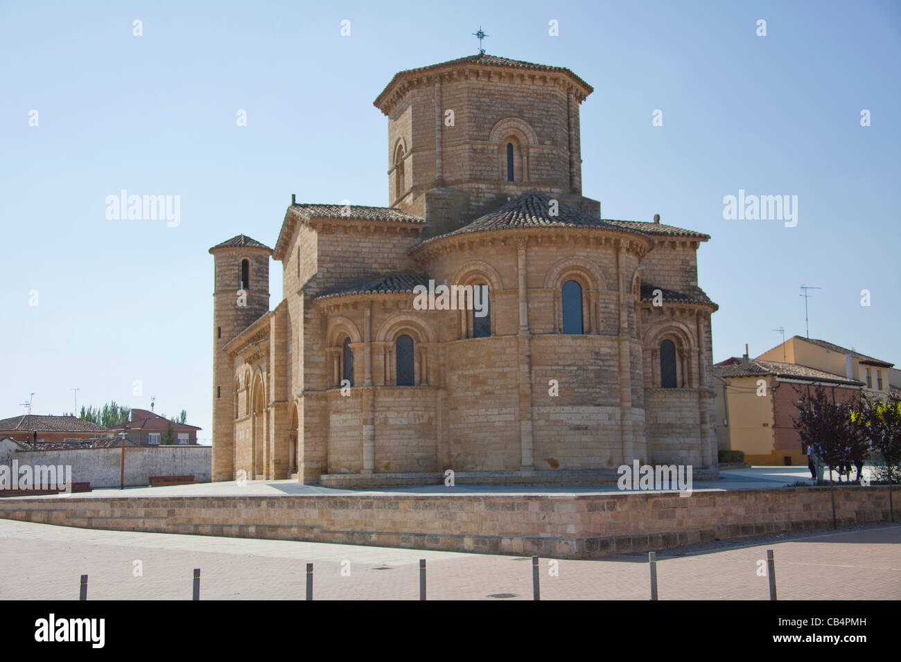 Romanesque Church of San Martín,  Fromista, province of Palencia, Castile and León, Spain. - Stock Image