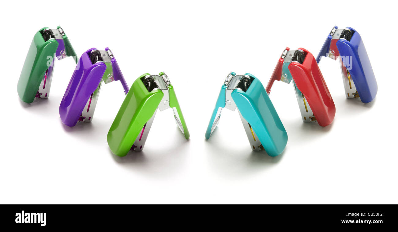 Staplers - Stock Image