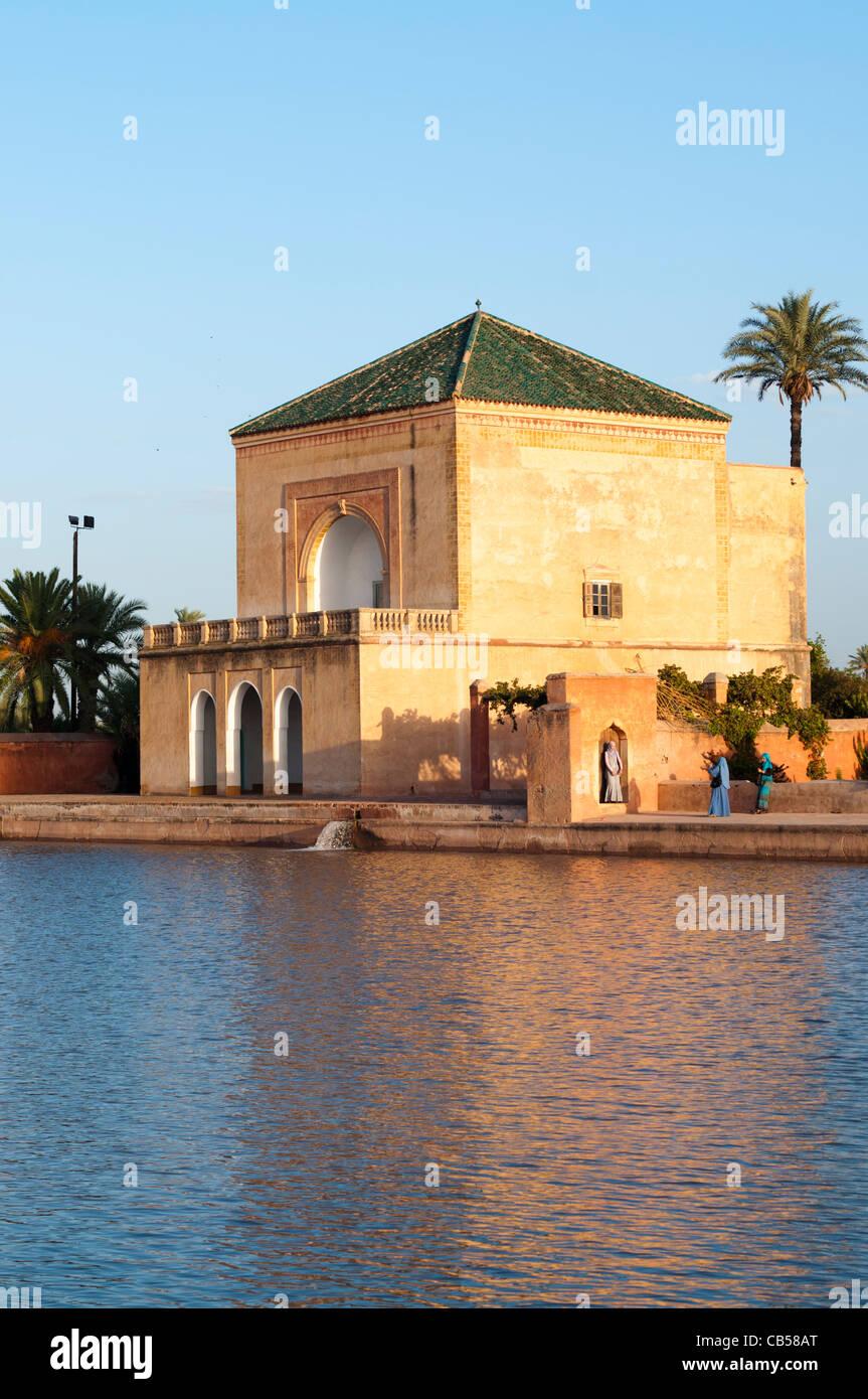 Menara Gardens Marrakech Stock Photos & Menara Gardens Marrakech ...