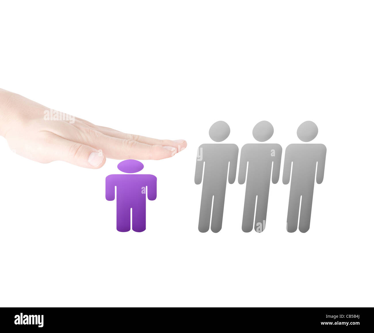 Harassment - Stock Image