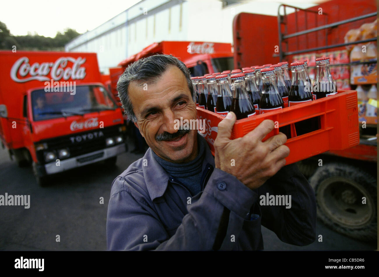 coca cola driver