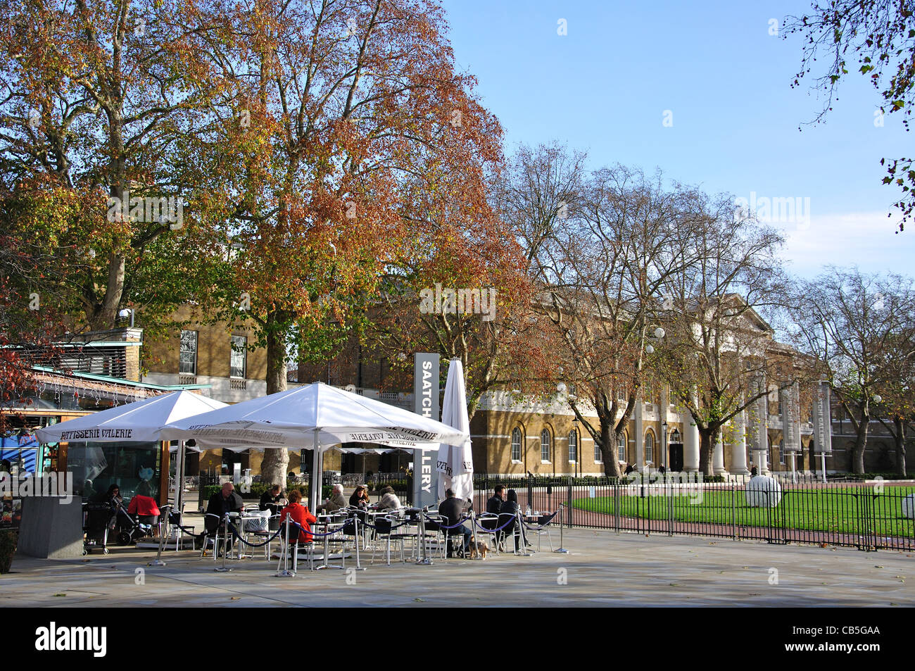 Saatchi Gallery, Kings Road, Chelsea, Royal Borough of Kensington and Chelsea, London, Greater London, England, Stock Photo