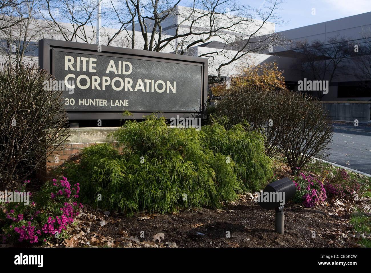 The Rite Aid Corporation corporate headquarters.  - Stock Image