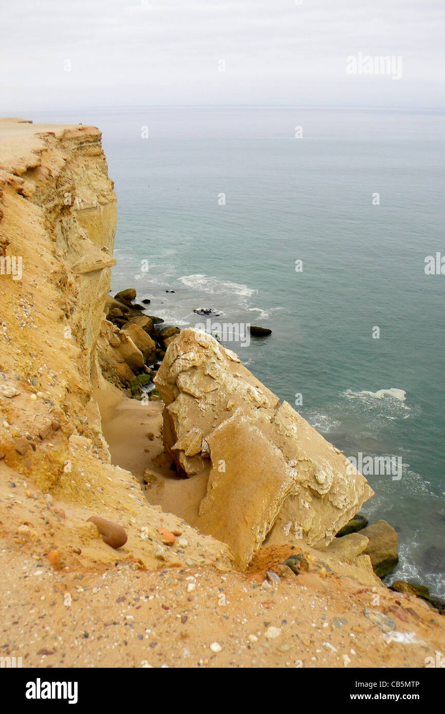 Cliff, Toumbua, Angola - Stock Image