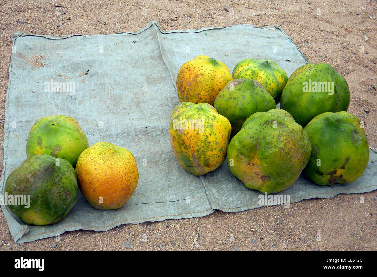 Fruits, Mocamedes, Angola - Stock Image