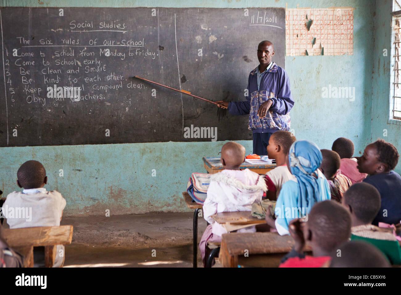 Kenyan mature teacher