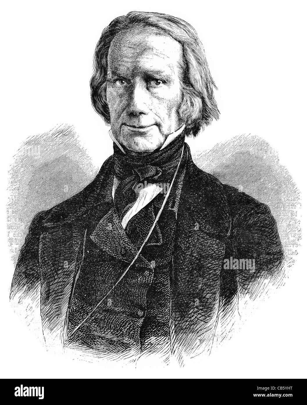 Henry Clay Sr 1777 1852 lawyer politician House Representatives Secretary State Politic Politics Political parliament - Stock Image