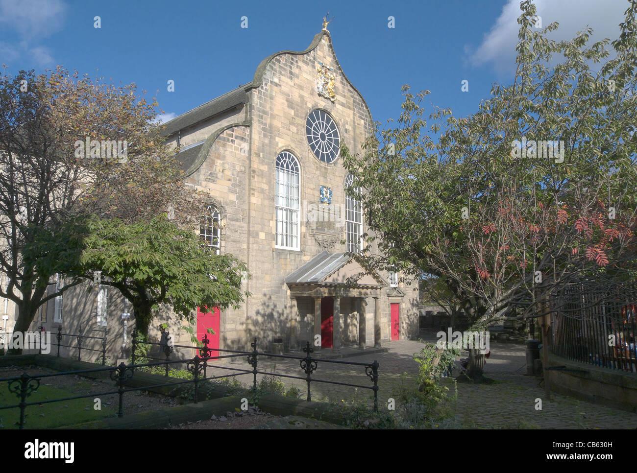 Canongate Kirk, Edinburgh, Scotland, UK Stock Photo