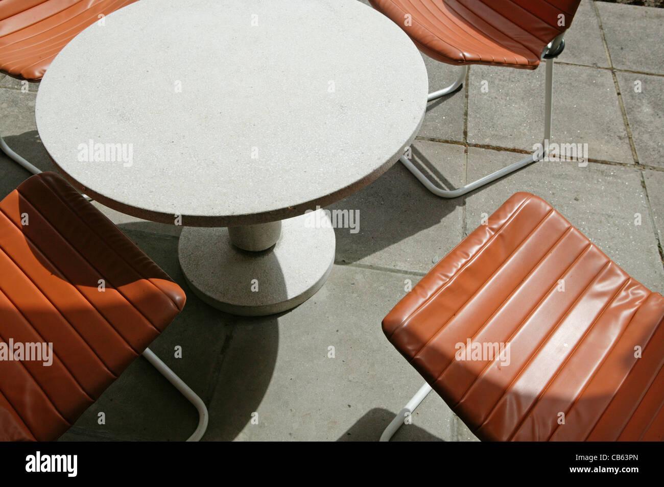 Funky garden furniture Stock Photo - Alamy