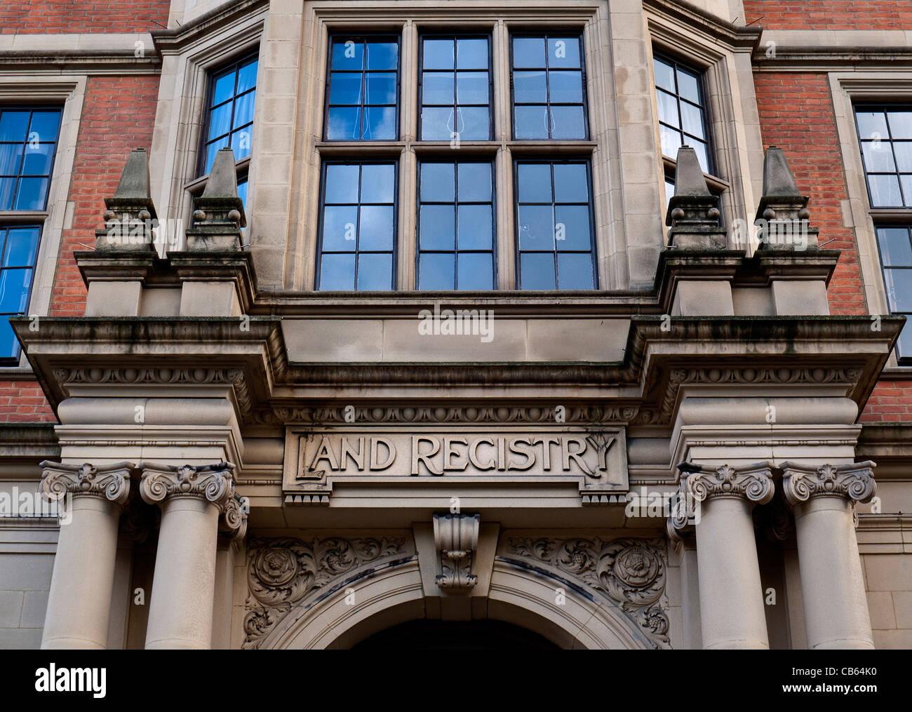 Land Registry Head Office Lincolns Inn Fields Holborn, London - Stock Image