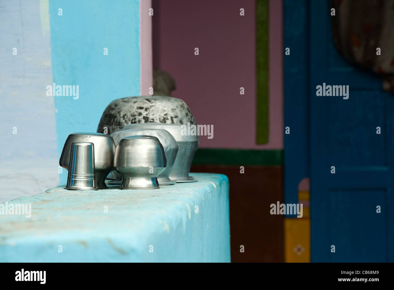 Indian Kitchen Utensils Stock Photos & Indian Kitchen Utensils Stock ...