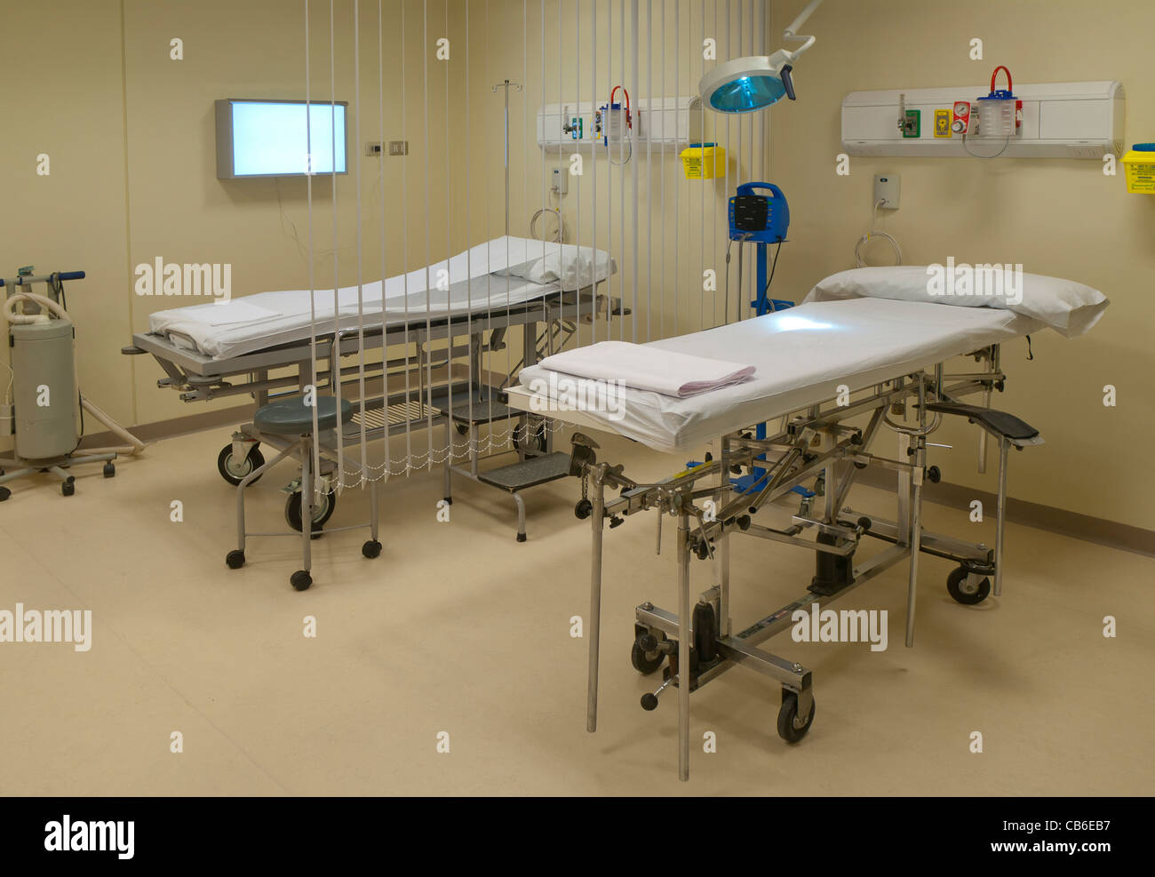 room primary care hospital - Stock Image