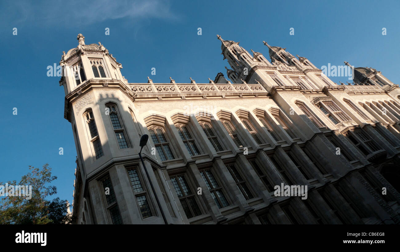 King's College University building Chancery Lane London England UK KATHY DEWITT - Stock Image