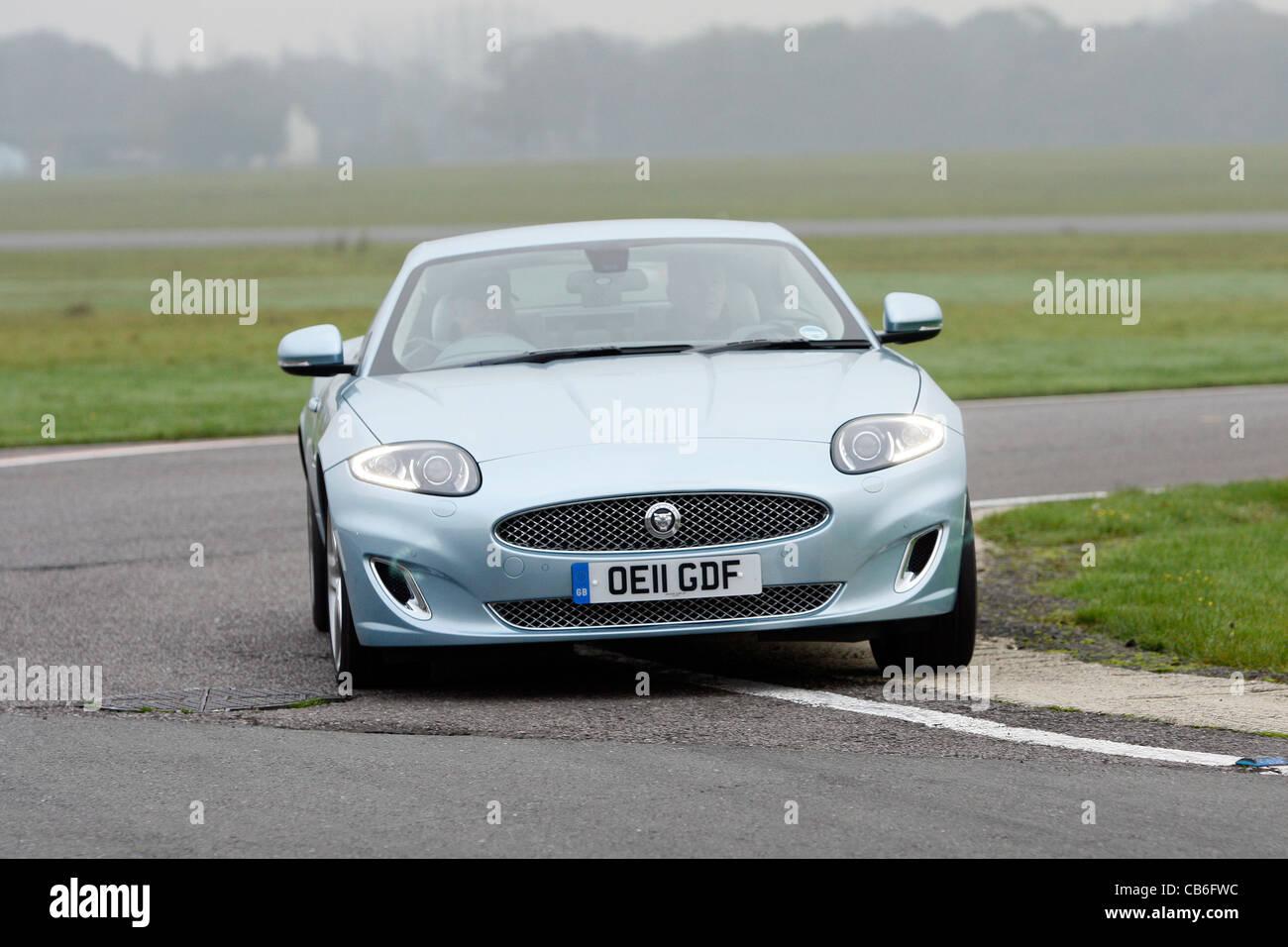 Jaguar XK Sports Car   Stock Image