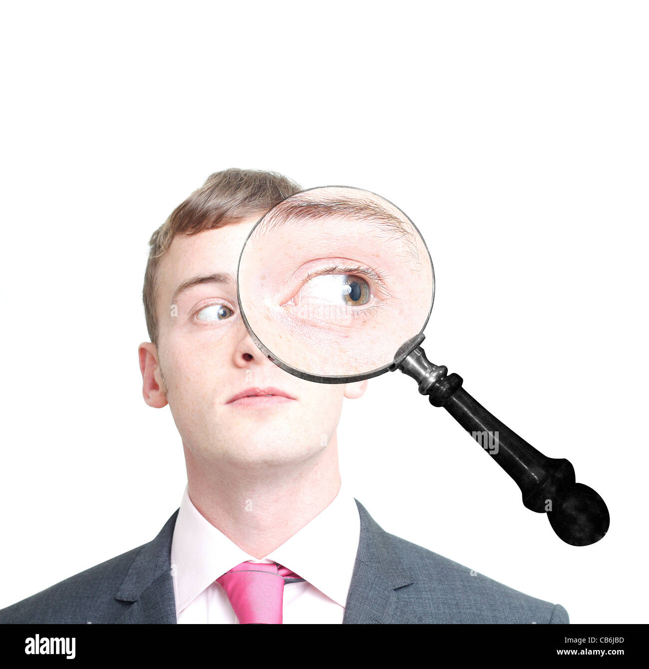 Investigating - Stock Image