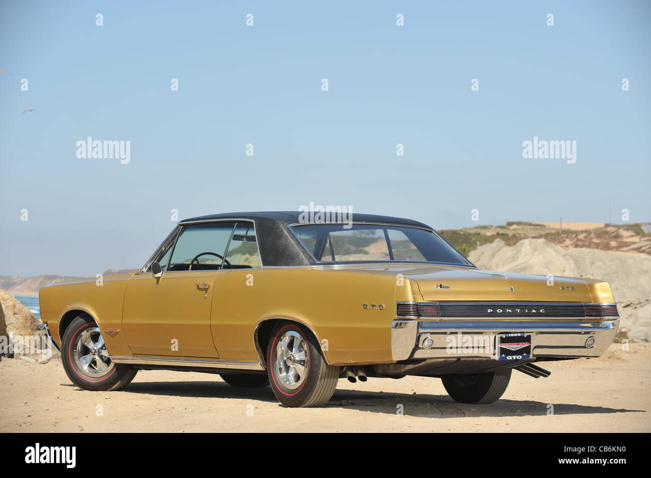 Your ride: 1965 pontiac gto.