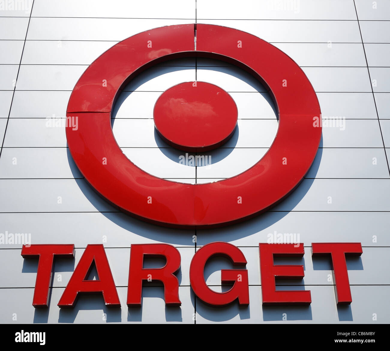 Target Corporation Sign - Stock Image