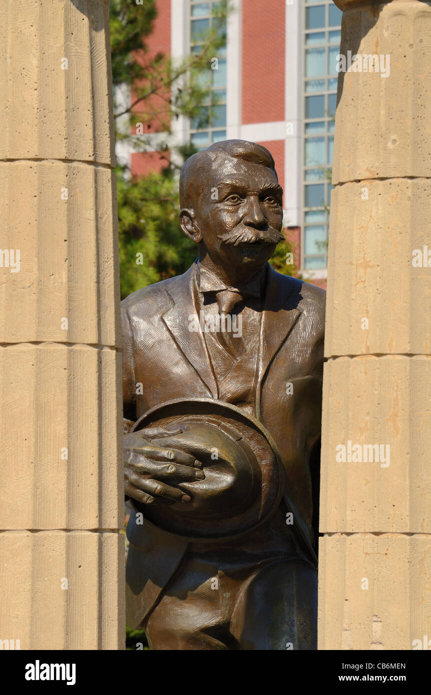 Monument at Centennial Olympic Park in Atlanta, Georgia. - Stock Image