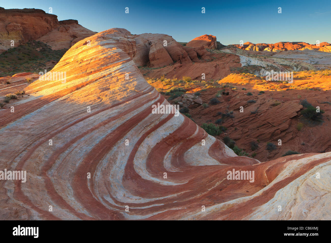 Valley Of Fire State Park - Stock Image
