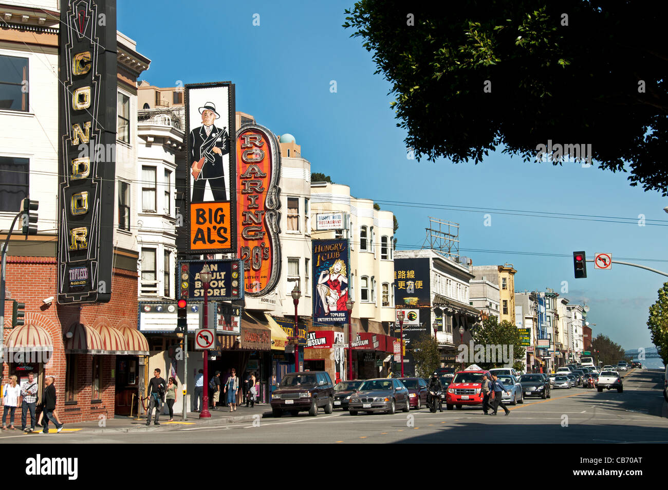 North Beach Little Italy San Francisco California Italian