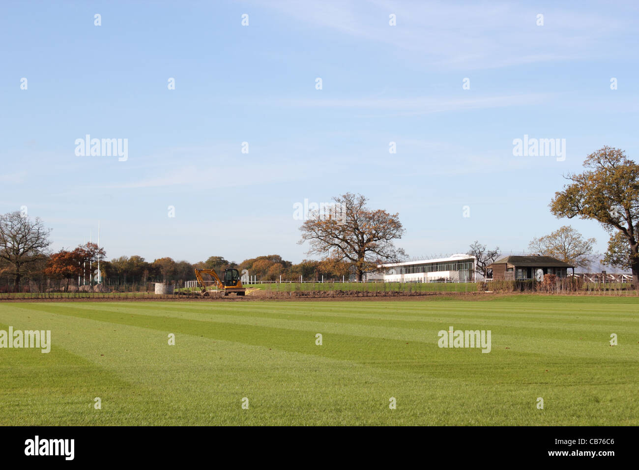 Tottenham Hotspur - The Football club's new training centre and ground, Bull's Cross, Enfield, Near London. - Stock Image