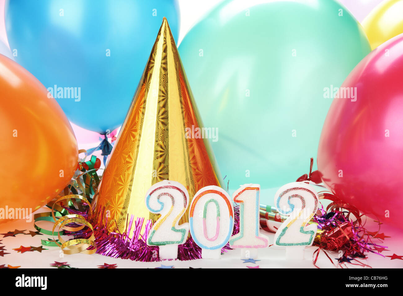2012 New Year Decoration - Stock Image
