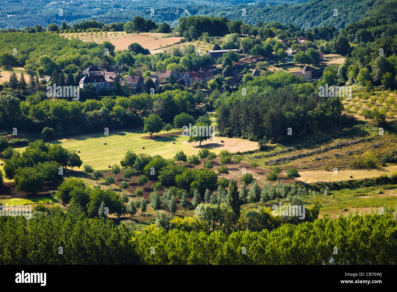 French Countryside Scenic View