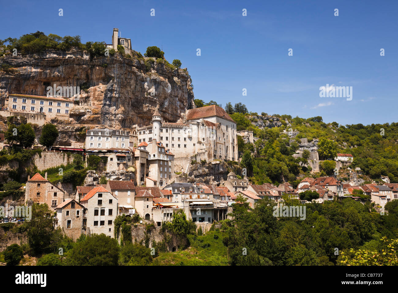Rocamadour, Lot, France, Europe - Stock Image