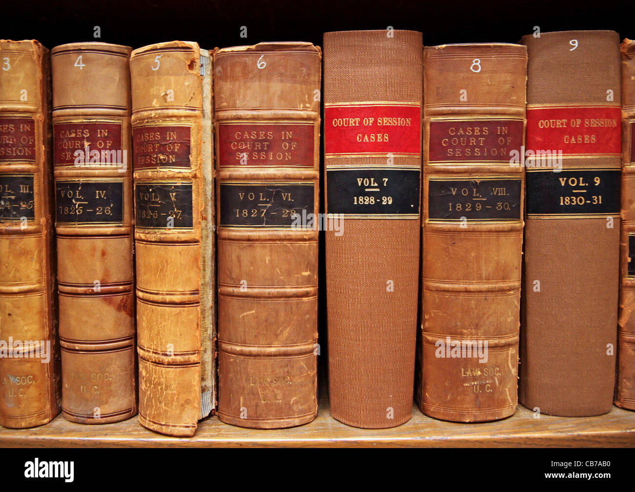 Old Law Books Stock Photo 41343764 Alamy
