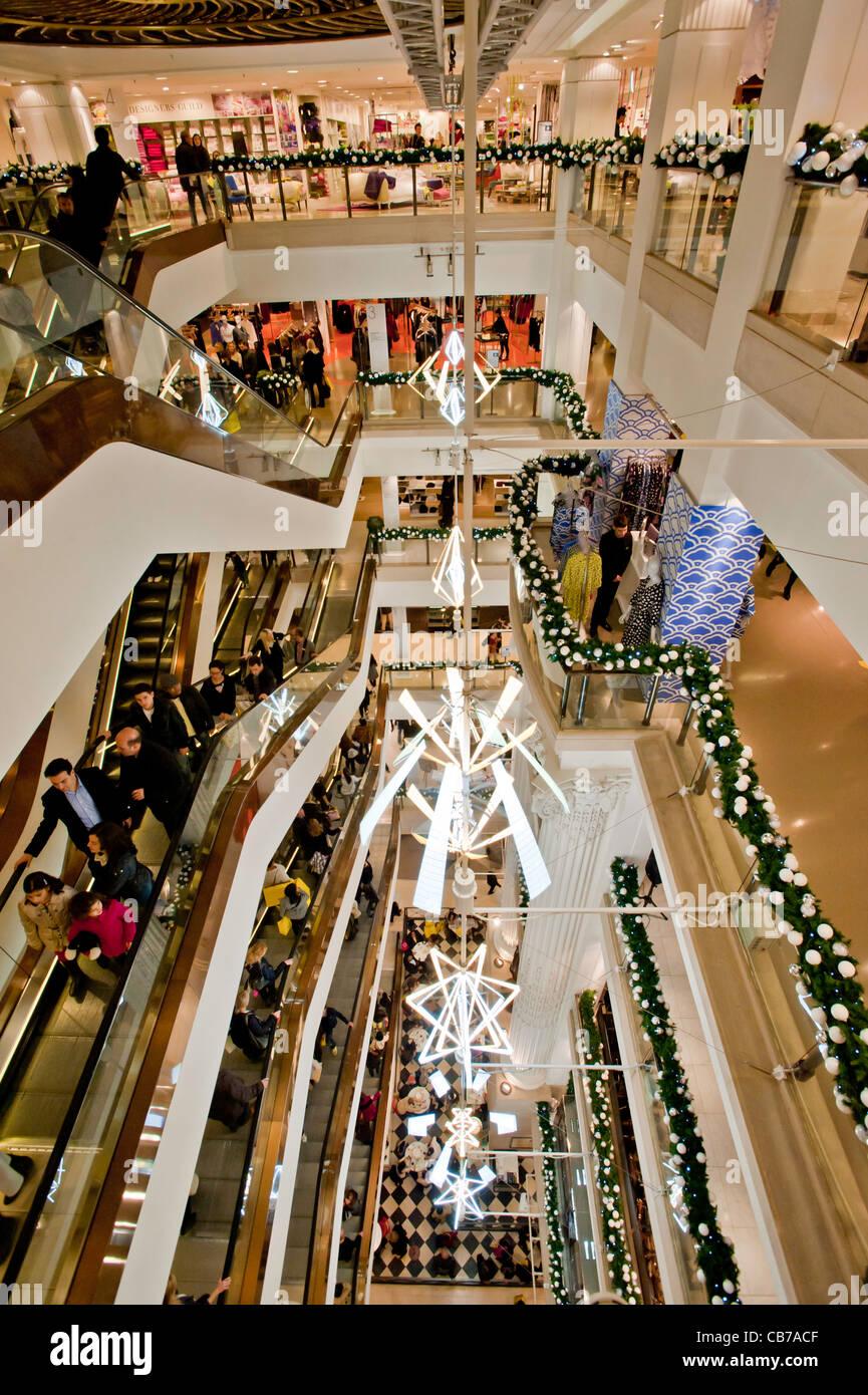 Selfridges department store, Oxford Street, London, United Kingdom - Stock Image