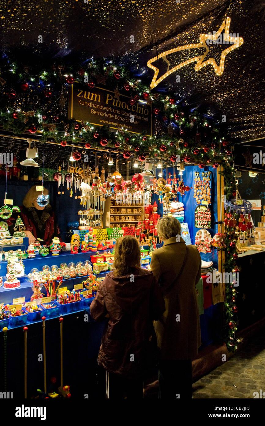 Basel Christmas Market.Basel Christmas Markets Stock Photos Basel Christmas