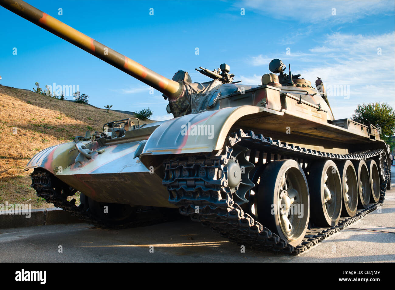 Hdr army stock photos hdr army stock images alamy russian battle tank with blue cloudy sky in background stock image thecheapjerseys Gallery