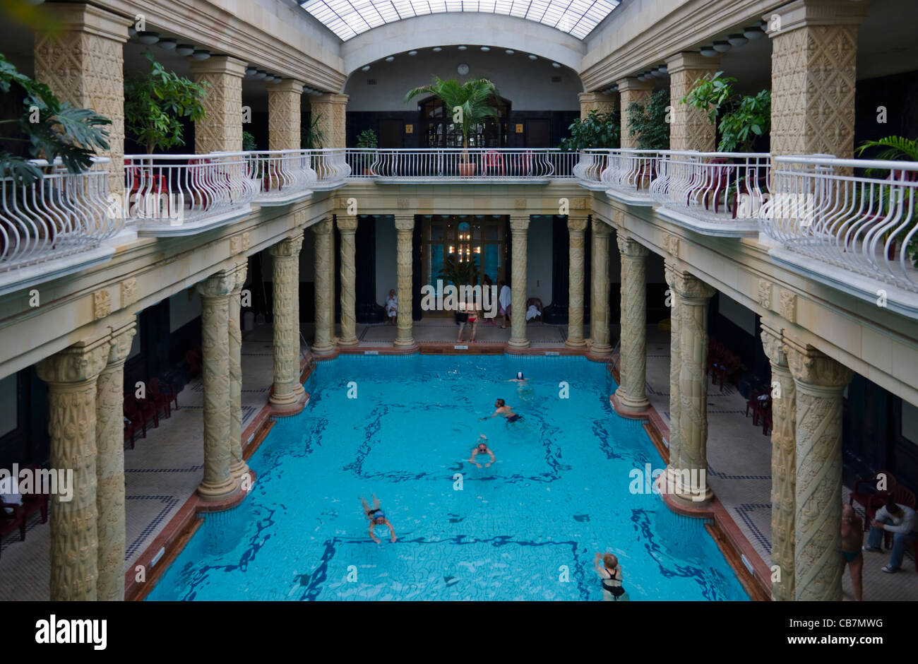 Gellert Bath Stock Photos & Gellert Bath Stock Images - Alamy