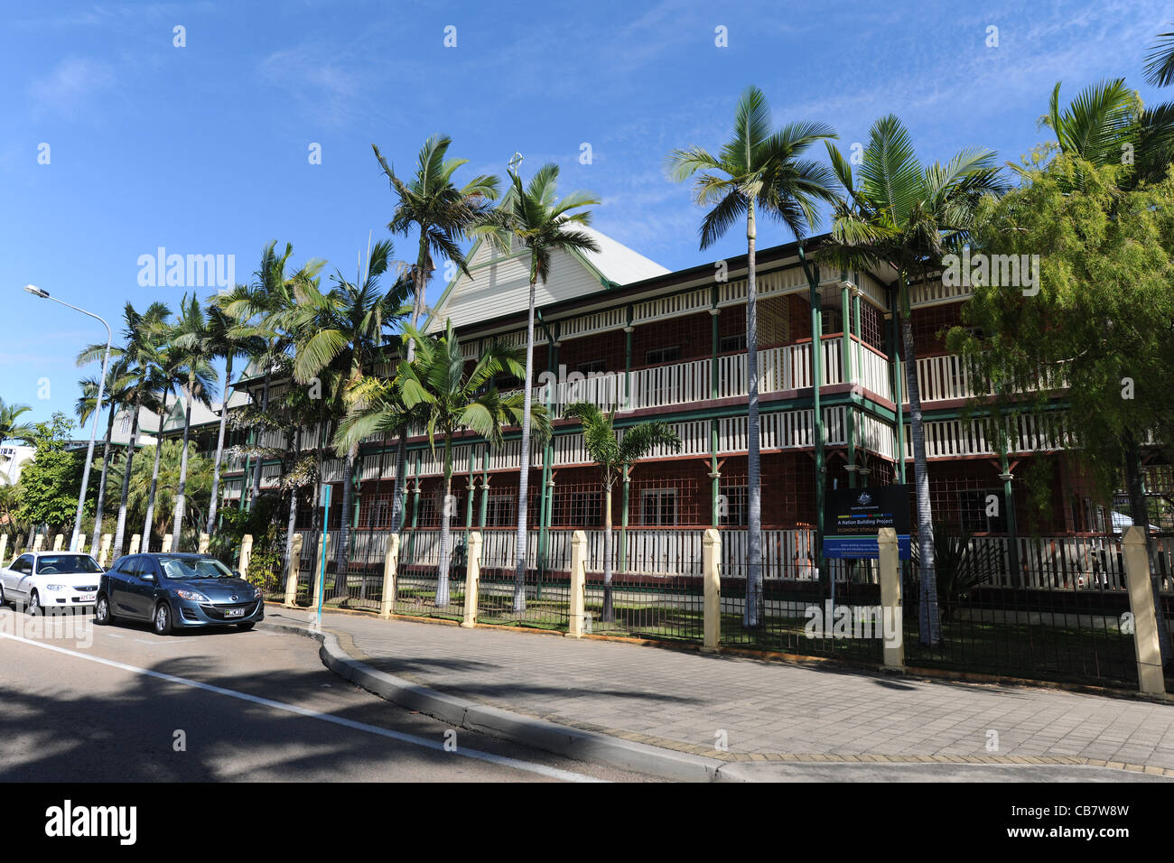 St Patrick's College, All Girls Catholic School, The Strand, Townsville, Queensland, Australia - Stock Image