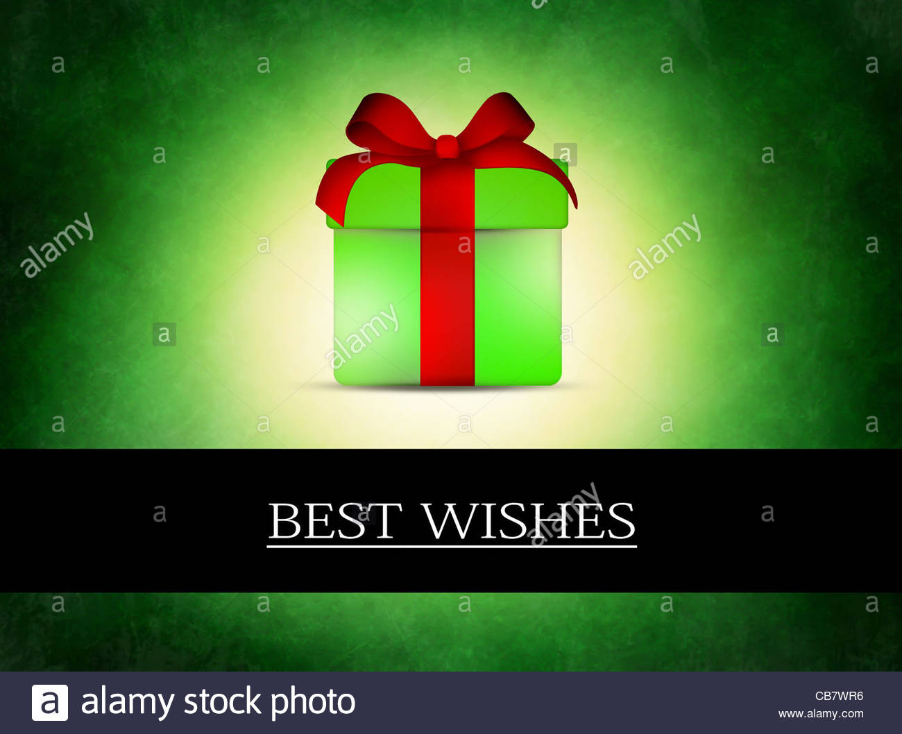 best wishes - Stock Image