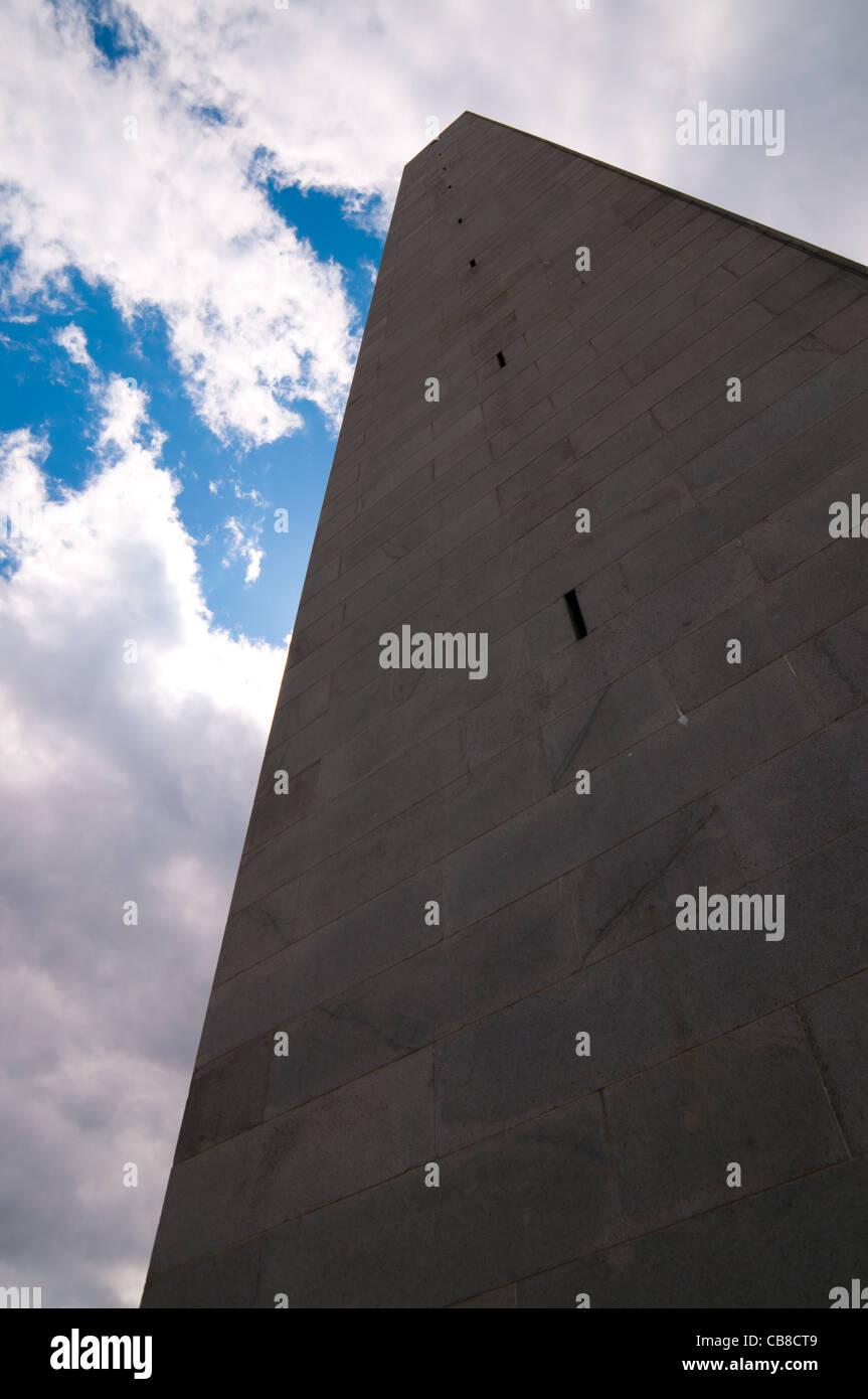 Bunker Hill Memorial, Boston, MA Stock Photo