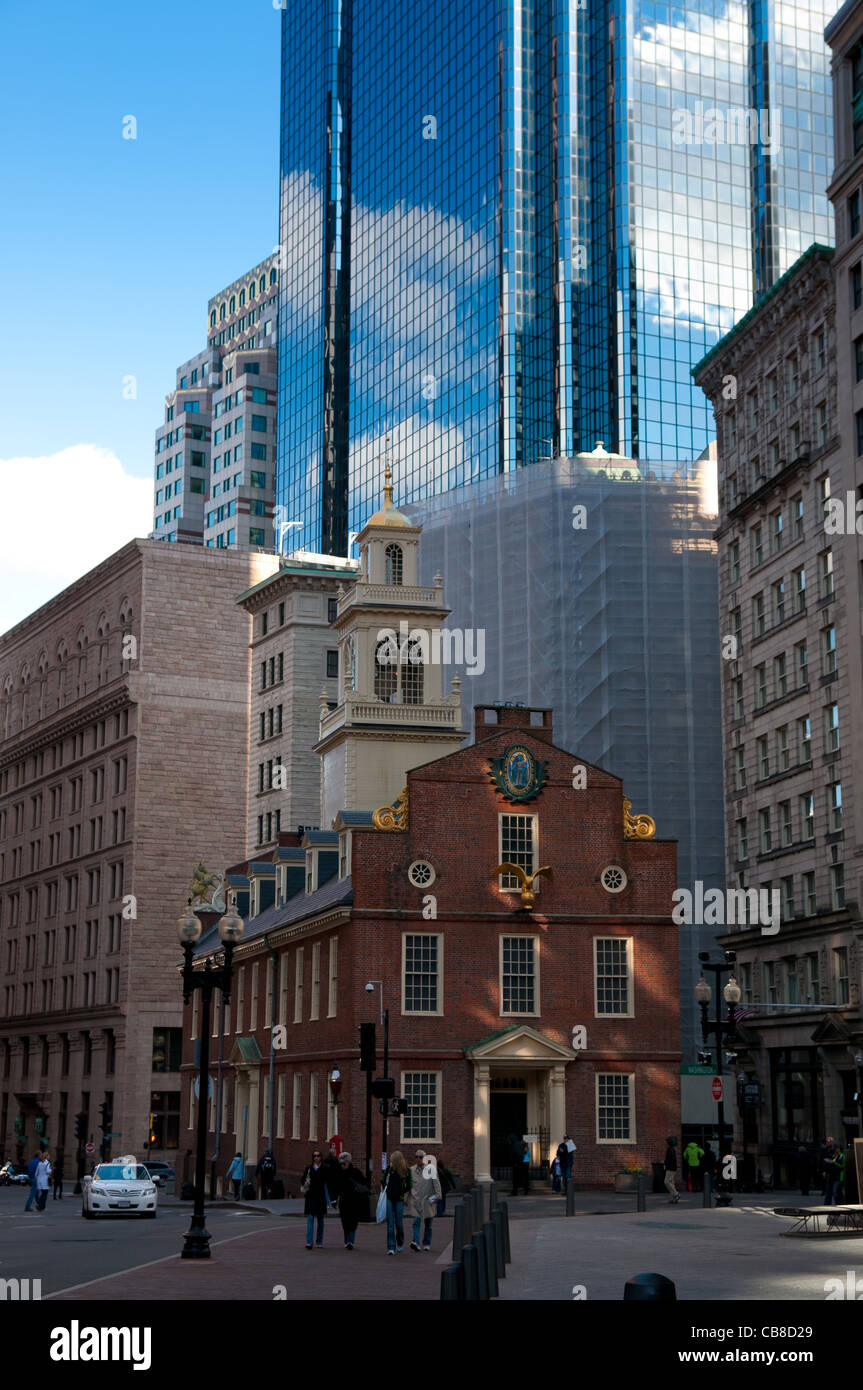 Old State House in Boston, MA Stock Photo