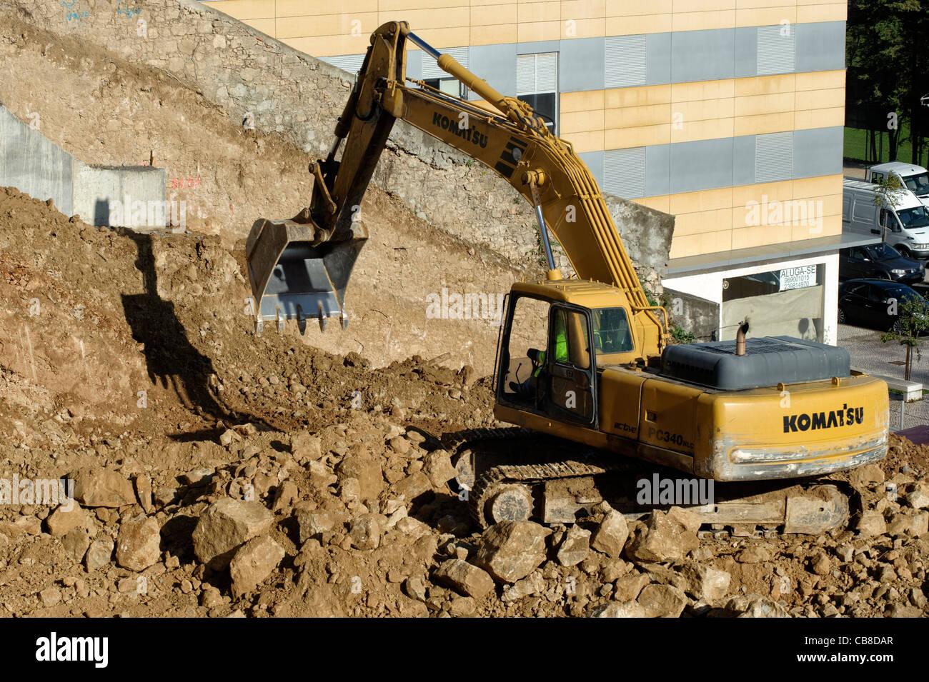 Digger - Stock Image