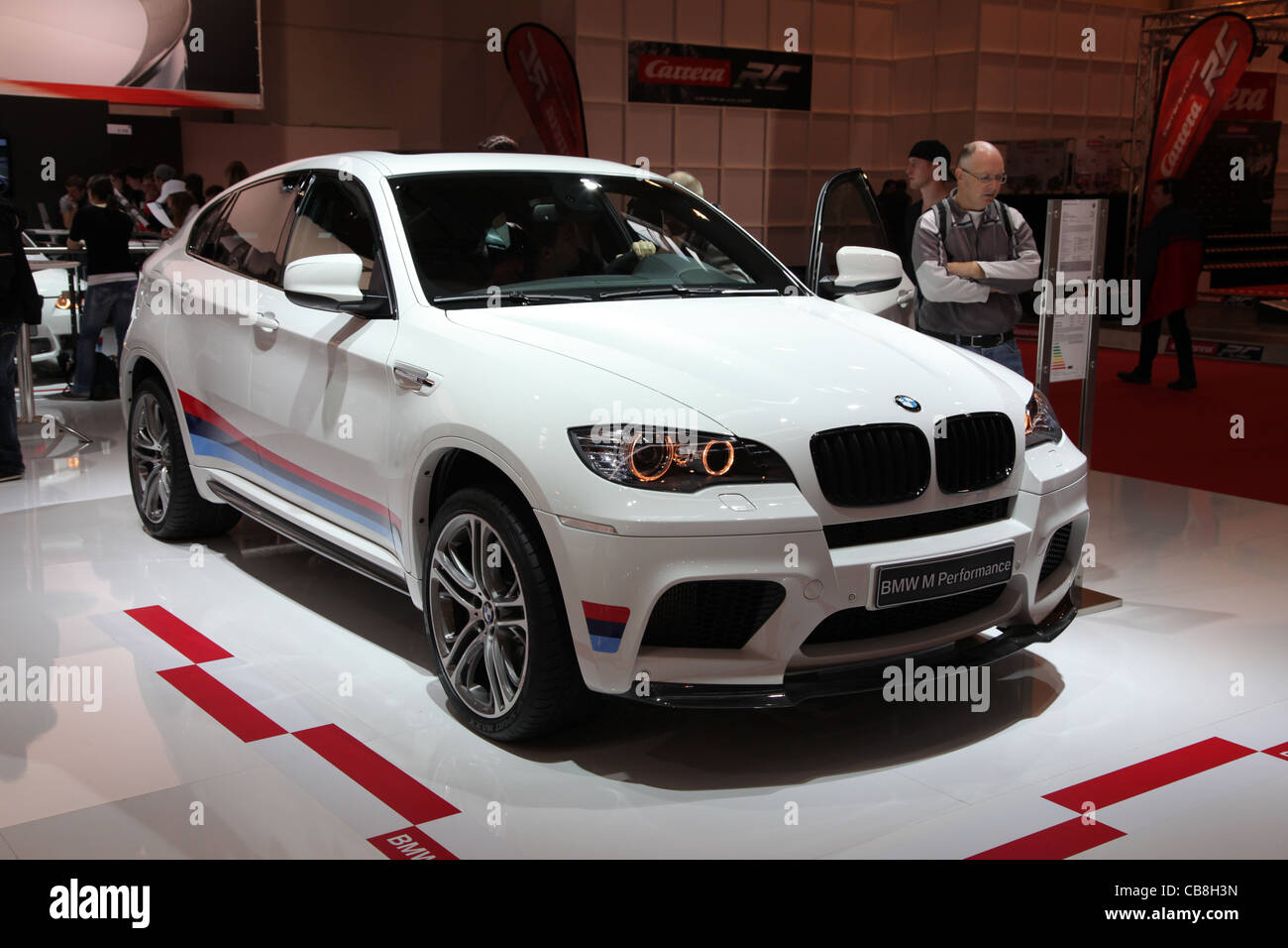 BMW X5 M Performance shown at the Essen Motor Show in Essen, Germany, on November 29, 2011 - Stock Image