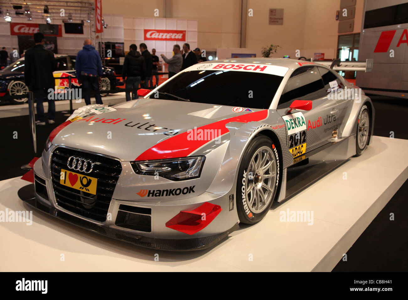 Audi A5 DTM R17 shown at the Essen Motor Show in Essen, Germany, on November 29, 2011 - Stock Image