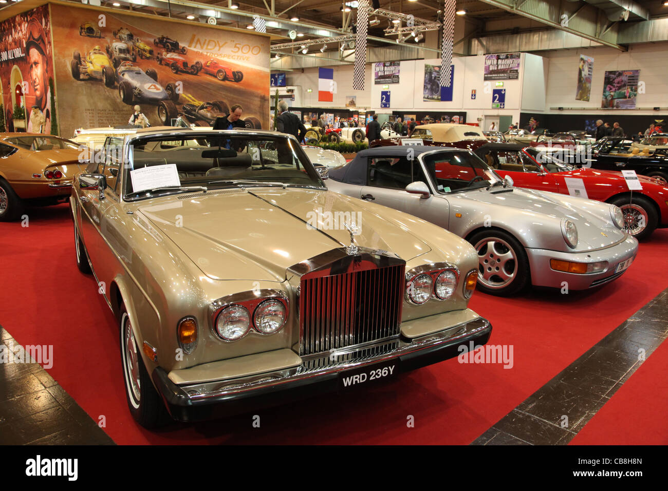 Classic Cars for Sale at the Essen Motor Show in Essen, Germany, on ...