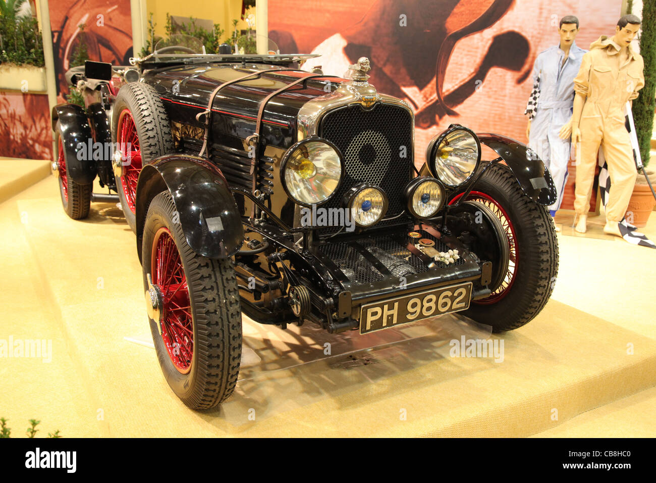 Historic Racing Car Stutz Blackhawk from 1928 shown at the Essen Motor Show in Essen, Germany, on November 29, 2 - Stock Image