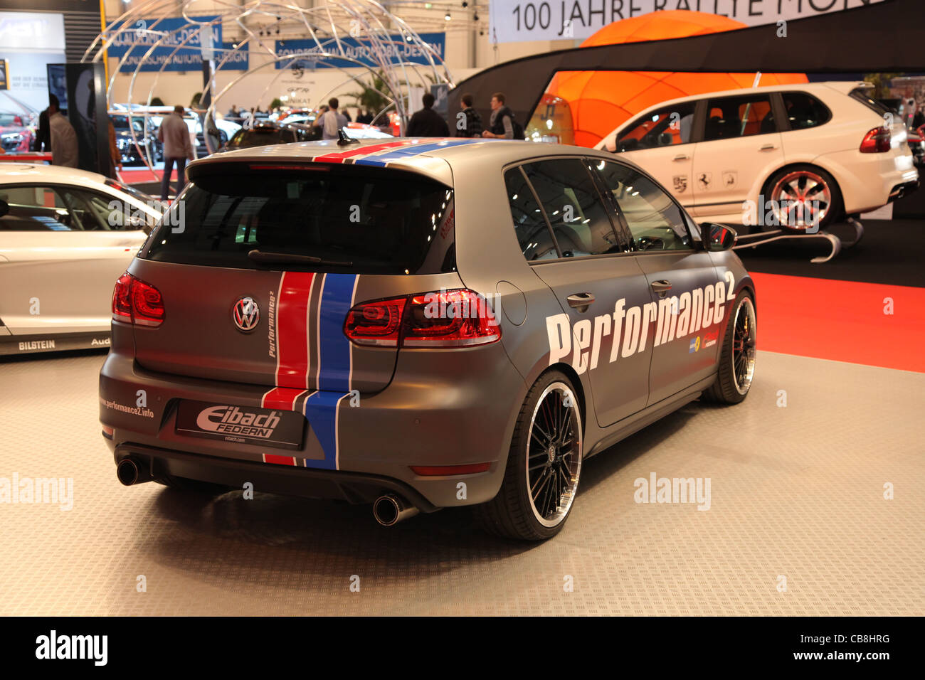 VW Golf GTI from Performance2 shown at the Essen Motor Show in Essen, Germany, on November 29, 2011 - Stock Image