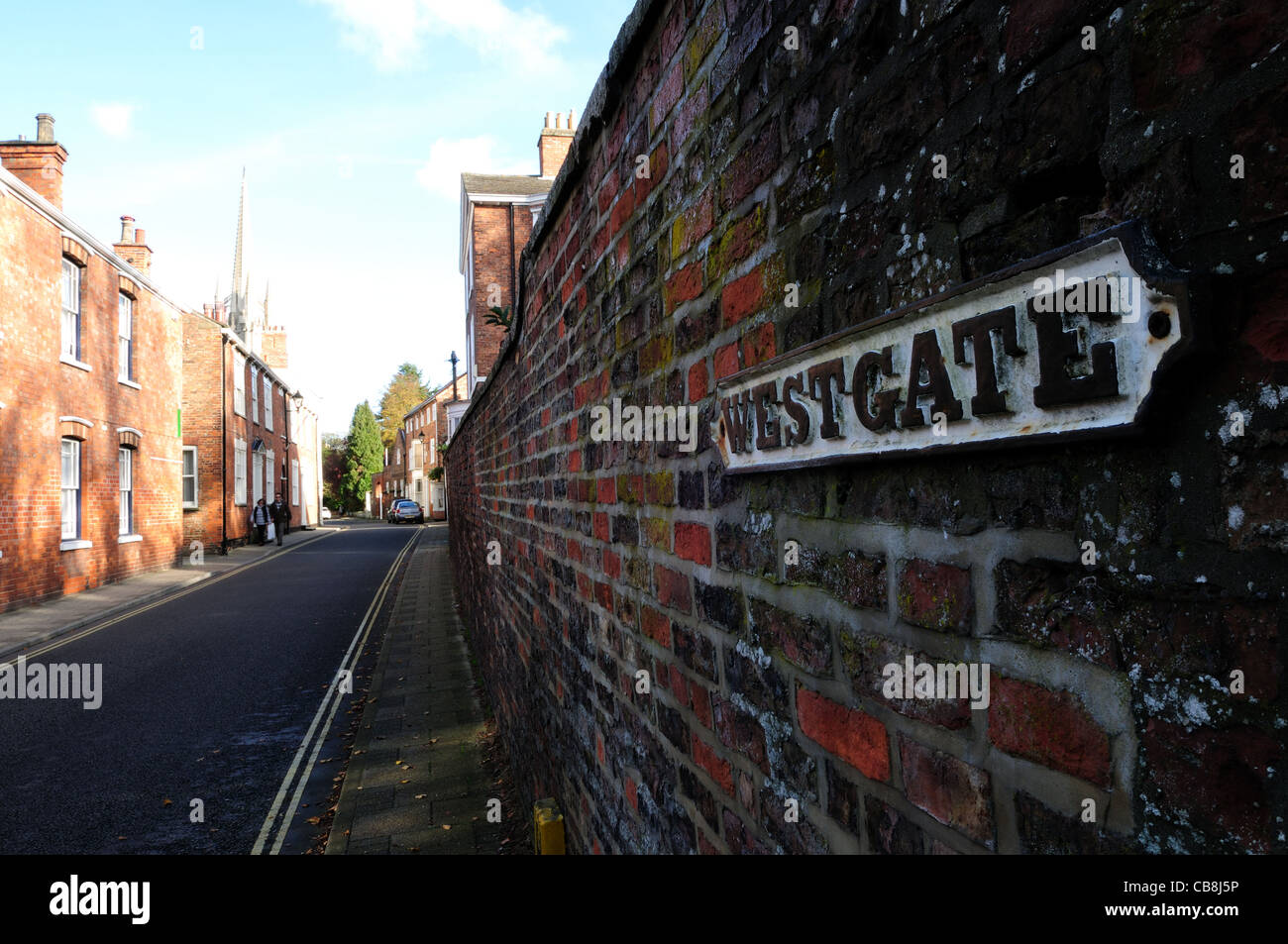 Louth Lincolnshire England. - Stock Image