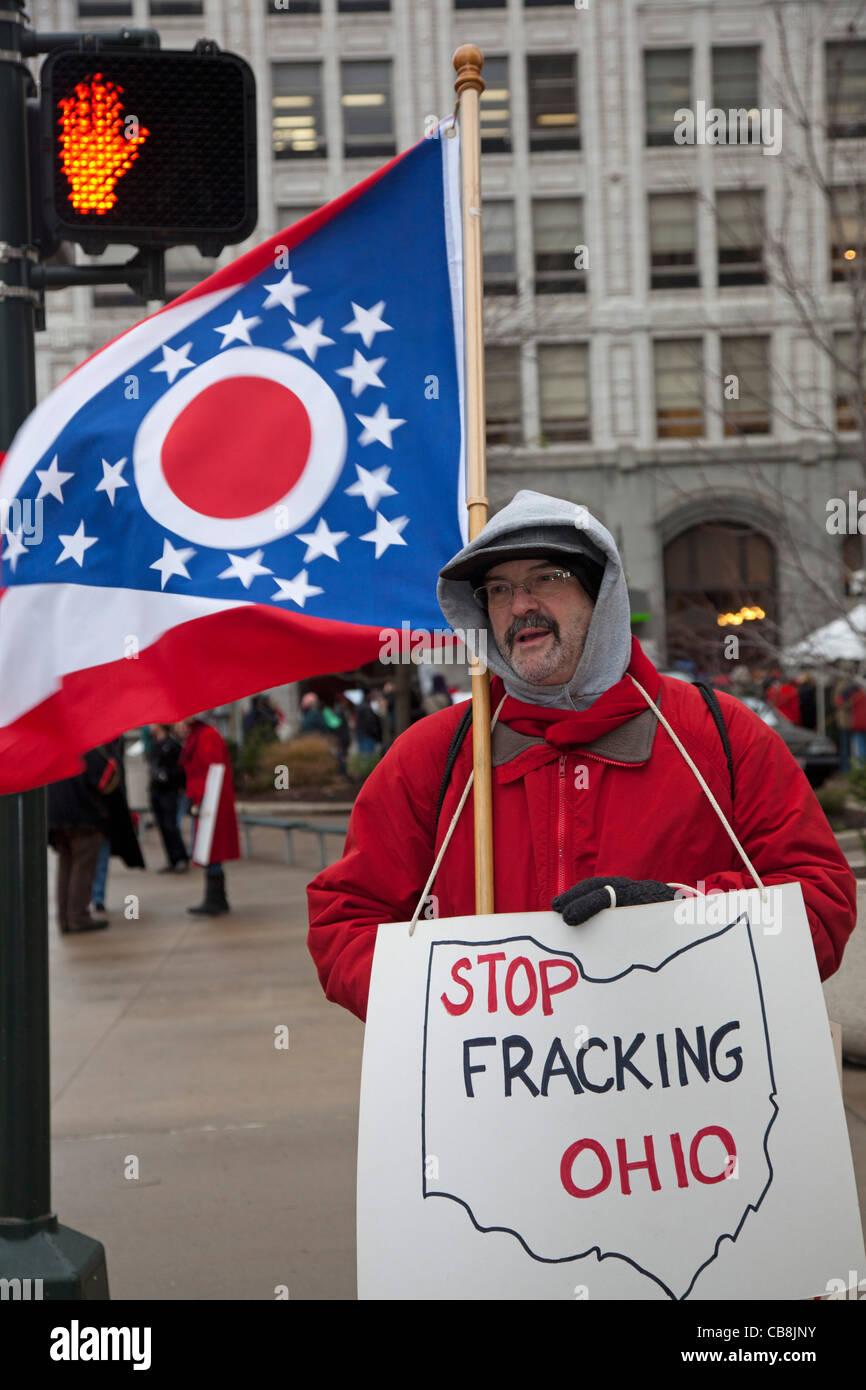 Fracking Protect - Stock Image